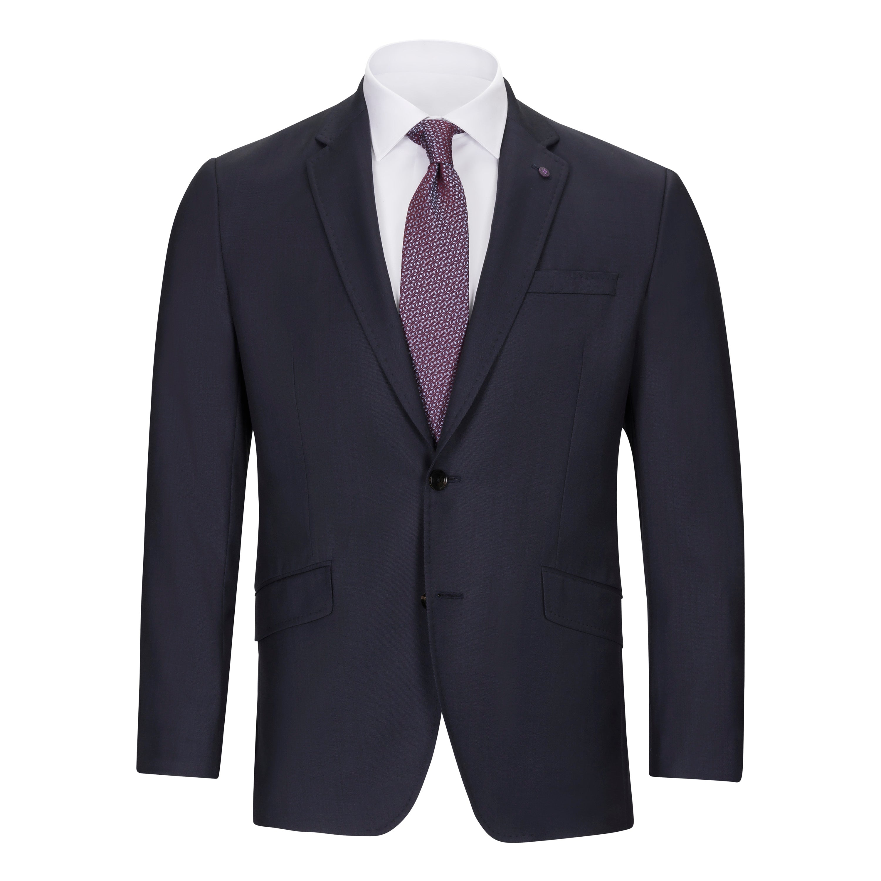 4bc1a7a6734dc4 TED BAKER BLUE SHARKSKIN SUIT – Miltons - The Store for Men