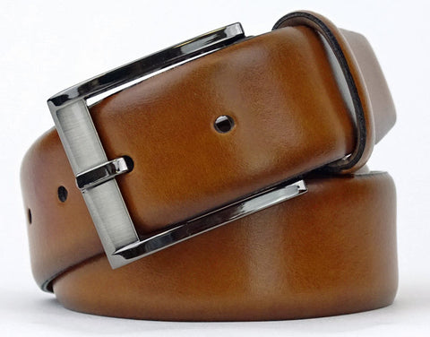 TRAFALGAR CAMERON TAN DRESS BELT