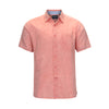 VISITOR LINEN COTTON BLEND SHORT SLEEVE SHIRT (more colors)