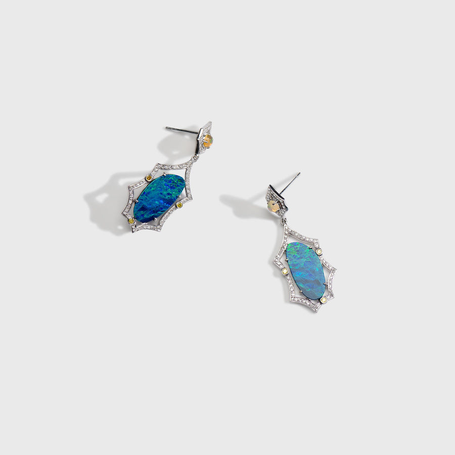 Abhilasha Opal Earrings