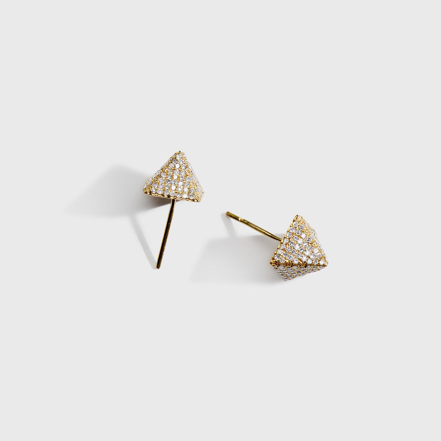 Abhinav Diamond Stud Earrings