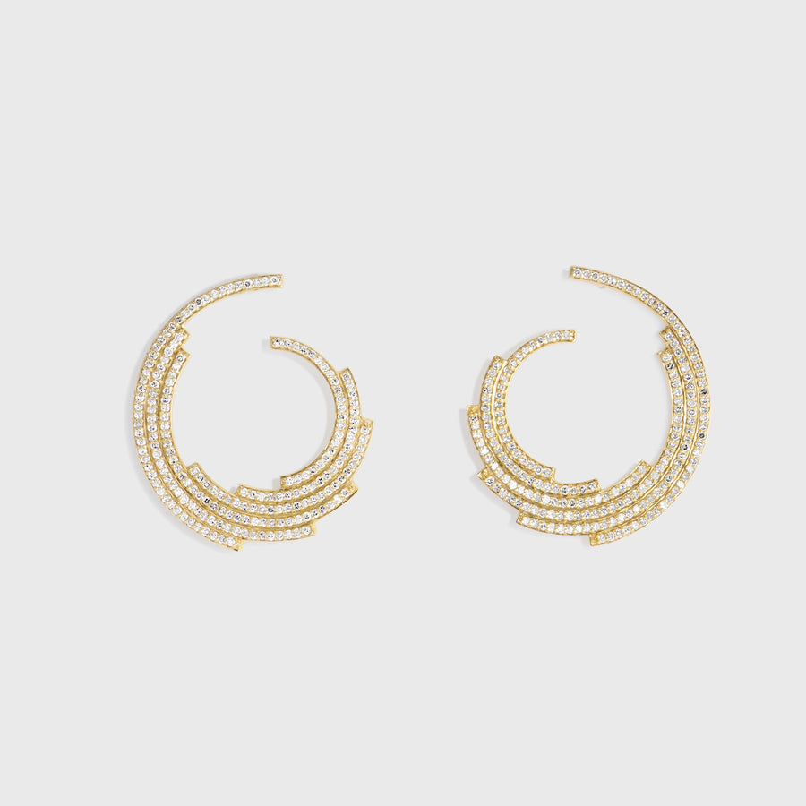 Aditi Diamond Earrings