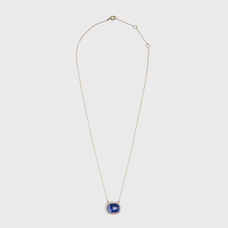 Tanay Sapphire and Diamond Necklace