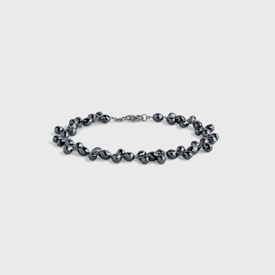 Pankhudi Black Diamond Bracelet