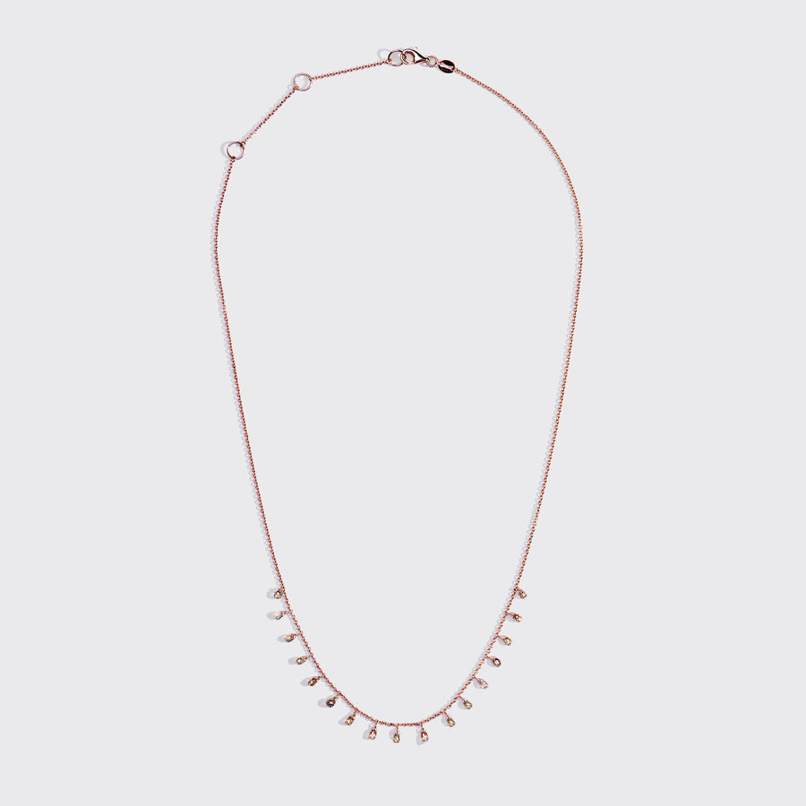 Jhanvi Fancy Diamonds Necklace