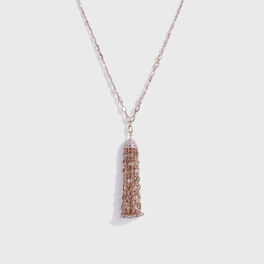 Jyestha Fancy Diamonds Necklace