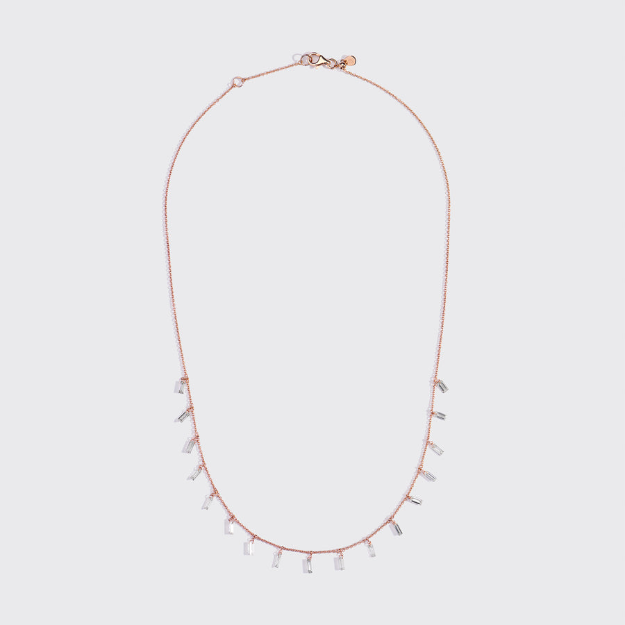 Mira Rose Gold Necklace