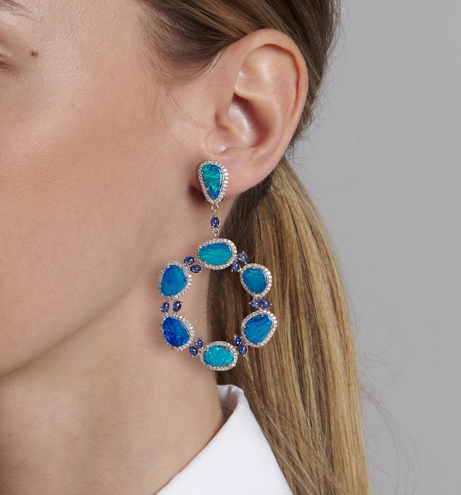 Anup Opal Earrings