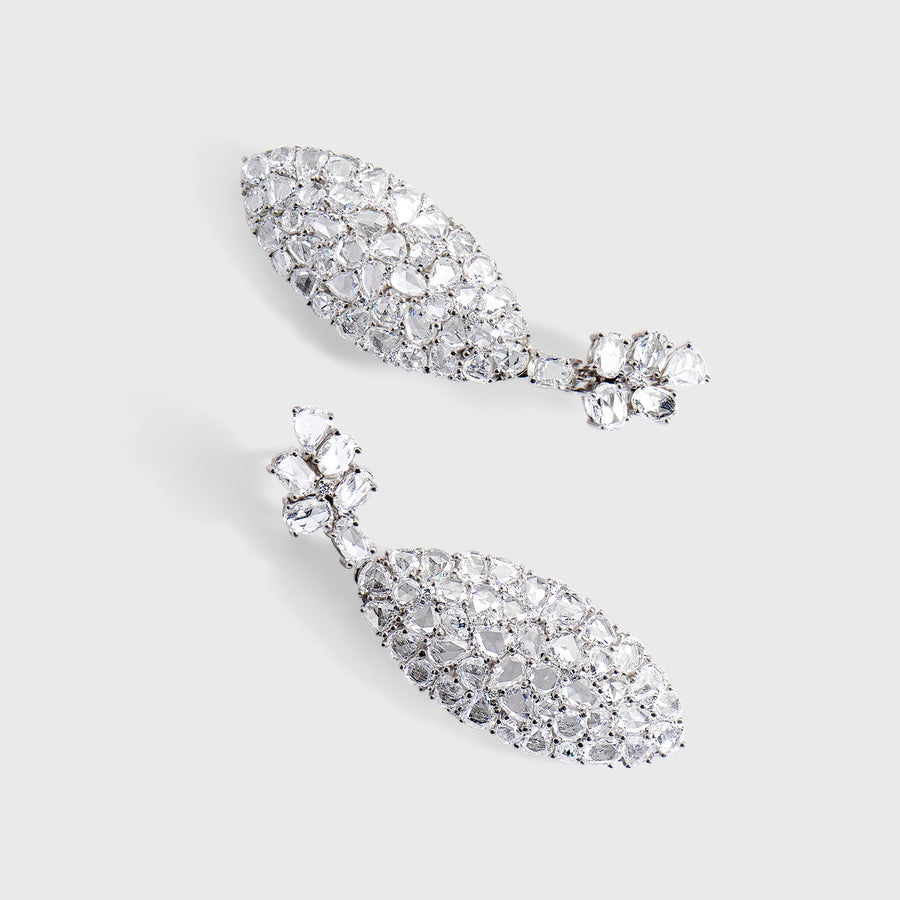 Pratibimba Diamond Earrings