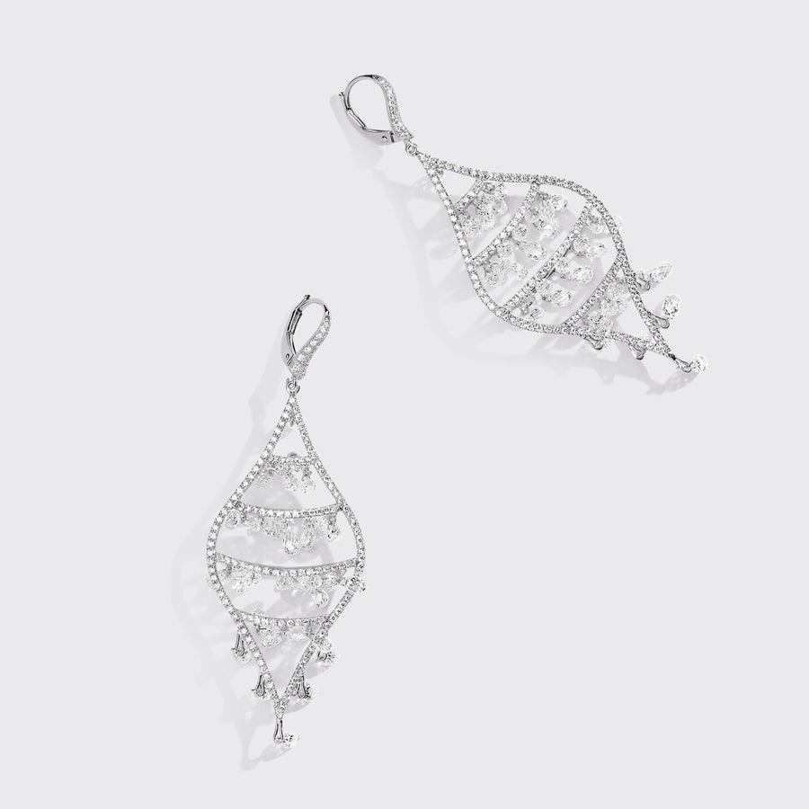Baarish Diamond Earrings
