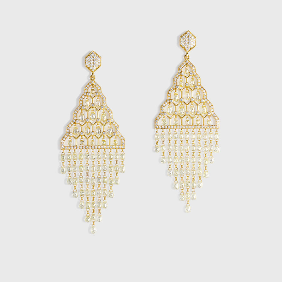 Hema Diamond Earrings