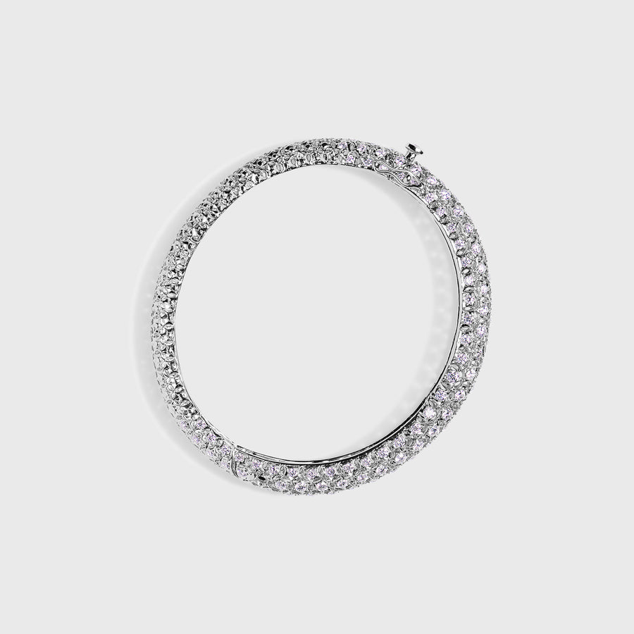 Chaitali White Gold Bangle