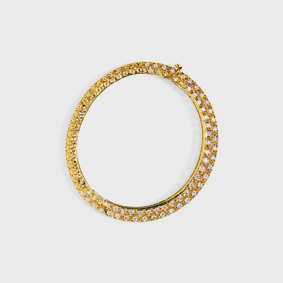 Chaitali Yellow Gold Bangle
