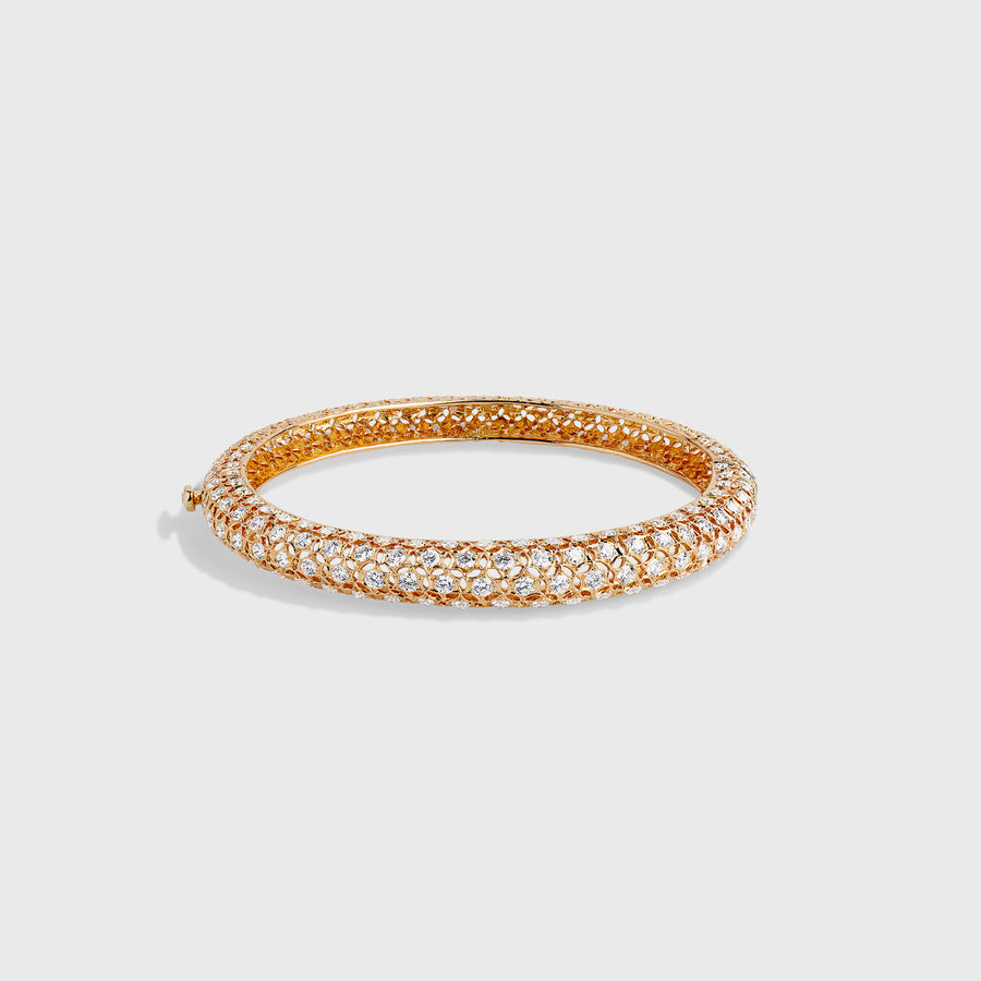 Chaitali Rose Gold Bangle