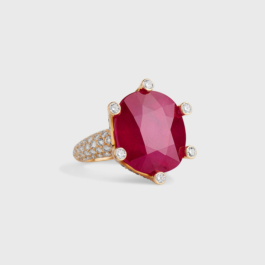 Idaya Ruby Ring