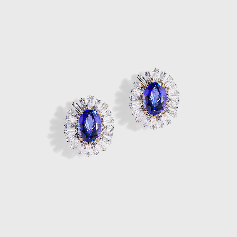Tejasvi Tanzanite Earrings