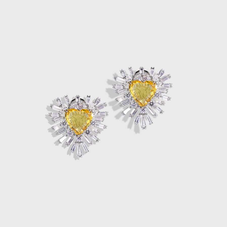 Hrithik Sapphires and Diamonds Earrings