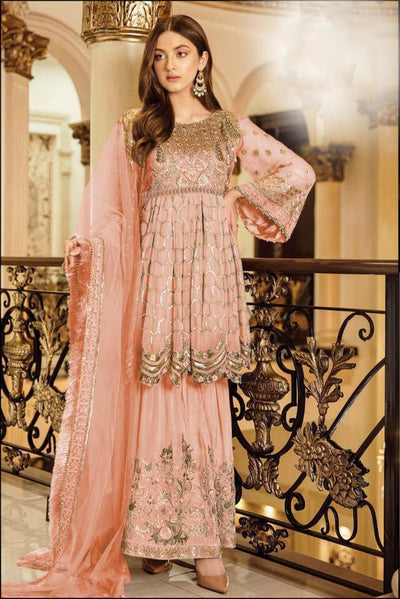 Heavy Designer Embroidered With Sequence Work Pakistani Design Suit