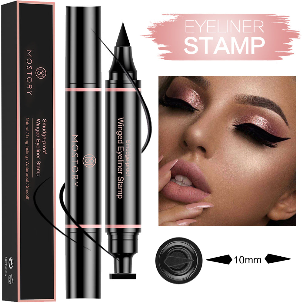 Winged Eyeliner Pencil Stamp for Sexy Cat Eye