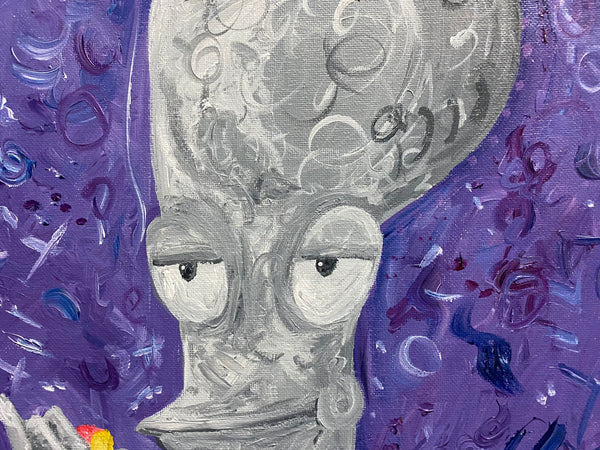 Roger Original Acrylic Painting