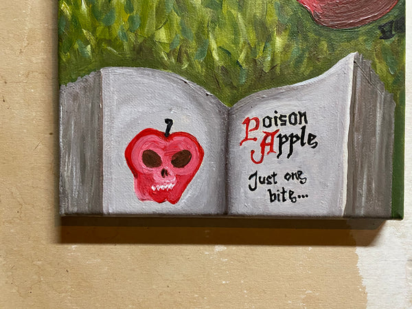 Just One Bite... Original Acrylic Painting