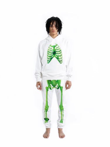 Neon Skeleton Jogger Pants