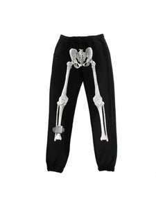 Chrome Skeleton Jogger Pants