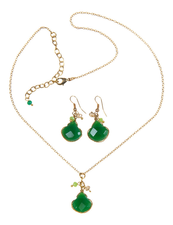 Ambi Necklace & Earrings Set - Shopgoggles