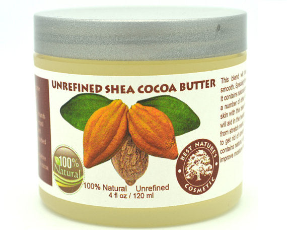 Unrefined Shea - Cocoa Butter. Helps to promote - Shopgoggles