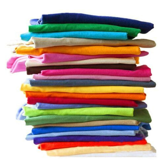 Solid Color Unisex Cotton T-shirts - Shopgoggles