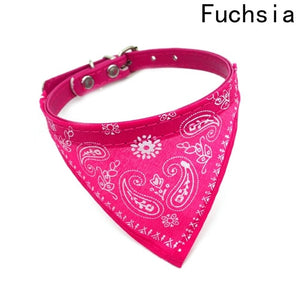 2019 New Fahsion Small Dog Scarf Adjustable Pet Cat Collars Scarf Neckerchief Necklace trigon Pet accessories - Shopgoggles
