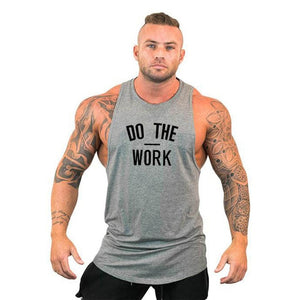 Muscleguys Brand clothing Bodybuilding hoodie Shirt Fitness Men Tank Top Muscle Vest Stringer Undershirt DO THE WORT TankTop - Shopgoggles
