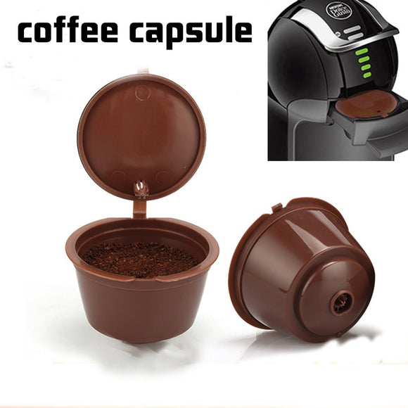 Nespresso 1/2/3PCS coffee capsule nestle dolce gusto capsule reusable coffee filter capsule machine refillable cafe capsula - Shopgoggles