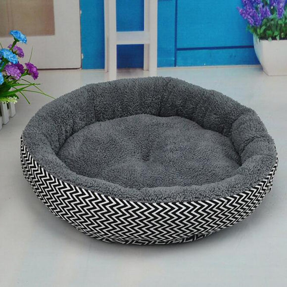 Dog Beds Mats Sofa Kennel Doggy Warm House Winter Pet Sleeping Bed House for Puppy Small Dog Blanket Cushion Basket Supplies - Shopgoggles