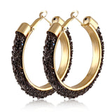 IPARAM 2020 New Big Circle Round Hoop Earrings for Women's Fashion Statement Golden Punk Charm Earrings Party Jewelry - Shopgoggles