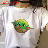 Baby Yoda Mandalorian T Shirt Men/women Harajuku Star Wars T-shirt Satanist moive graphic tees men Tshirt Male 80s Top - Shopgoggles
