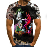 2020 hot-sale Clown 3D Printed T Shirt Men Joker Face Male tshirt 3d Clown Short Sleeve Funny T Shirts Tops & Tees XXS-6XL - Shopgoggles