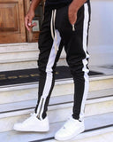 Mens Joggers Casual Pants Fitness Men Sportswear Tracksuit Bottoms Skinny Sweatpants Trousers Black Gyms Jogger Track Pants - Shopgoggles