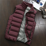 Spring Autumn Men New Stylish 2019 Vest Mens Plus Size 5XLWarm Sleeveless Jacket Men Winter Waistcoat Men's Vest Casual Coats - Shopgoggles