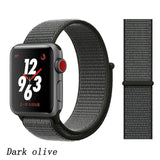 Strap For Apple Watch band 44mm/40mm Sport loop iwatch band 5 42mm 38mm correa pulseira apple watch 5 3 4 band nylon watchband - Shopgoggles