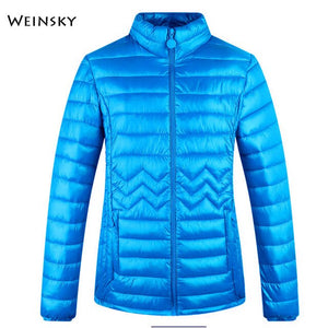 Winter Women Slim Jacket Female Full Sleeve Warm High Quality Parka Coats And Tops - Shopgoggles