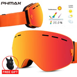 PHMAX 2020 Ski Goggles With Ski Mask Men Women Snowboard Goggles Glasses Skiing UV400 Protection  Anti-fog Snow Skiing Glasses - Shopgoggles