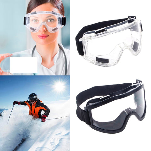Safety Goggles Ski Snowboard Motorcycle Eyewear Glasses Eye Protection Work Lab - Shopgoggles