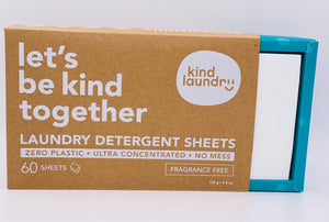 Laundry Detergent Sheets (Fragrance-Free)