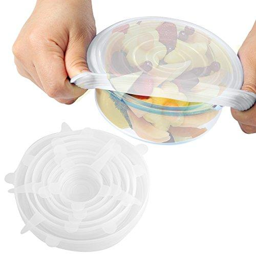 Silicone Bowl Cover- 6 pack