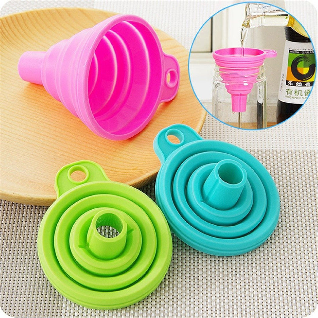 Silicone Funnel- Collapsible