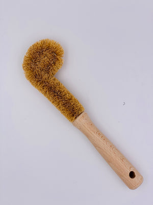 Coconut Mason Jar Brush