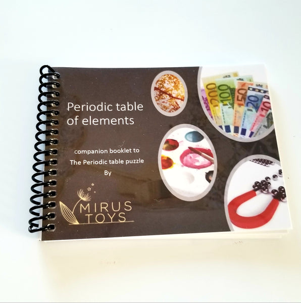 Periodic table booklet - Periodic table study