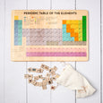 Periodic table puzzle - who am i game - periodic table of elements - periodic table set - homeschooling - chemistry - montessori - stem toy