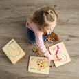 Montessori continent work - Transfer work - Montessori geography - Montessori Fine Motor Work -  Fine Motor Skills Activity - Tonging